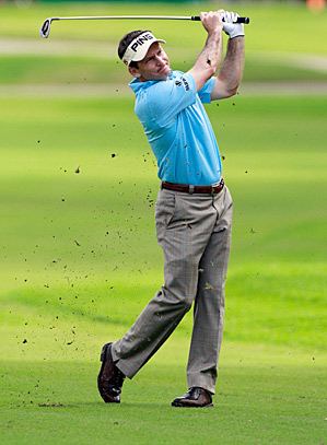 Mark Wilson fired a 65 to take the lead heading into the final round.