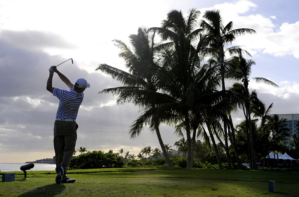 Johnson finished in the top 10 in both events in Hawaii.