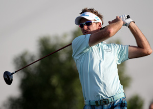 Ian Poulter made seven birdies and no bogeys on Thursday.