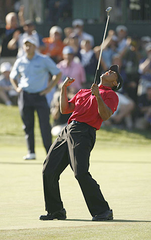 Tiger Woods has won at Torrey Pines, the site of this week's Farmers Insurance Open, eight times, including the 2008 U.S. Open.