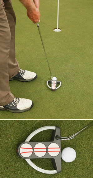 Even with perfect aim you'll miss if you don't hit the sweet spot.