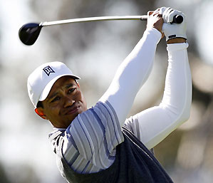 Tiger Woods has made only one bogey this week.