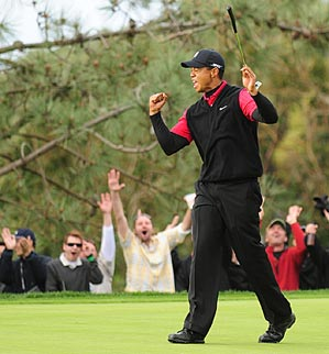 Woods won in his last start, the Buick Invitational at Torrey Pines.