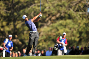 Tiger Woods is only five shots off the lead heading into Saturday.