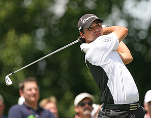 Jason Day missed the playoff at Colonial by one stroke. He finished alone in fourth place.