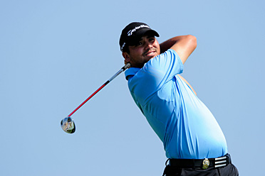 Jason Day is a shot off the lead.
