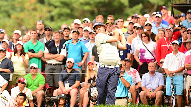 Dufner matched the best score ever shot at a major with his 63 on Friday.