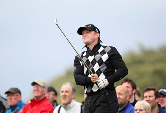 Jamie Donaldson made an eagle, four birdies and three bogeys.