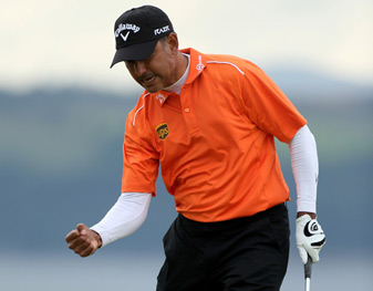 Jeev Milkha Singh birdied the first playoff hole to win on Sunday.