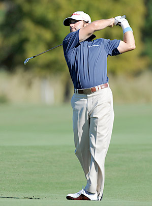 Joe Affrunti made birdie on the 18th hole to move to 22nd on the Nationwide money list, securing his PGA Tour card for 2011.