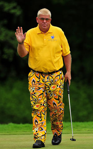 John Daly has played eight times overseas during his suspension.