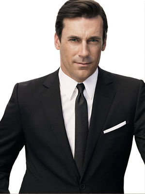 Jon Hamm, 39, won a Golden Globe for portraying Don Draper on Mad Men. He co-stars in the film The Town, opening September 10.