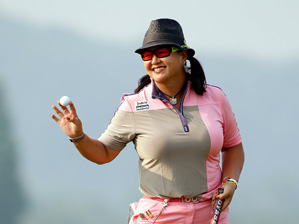 Christina Kim has renewed confidence on the greens after a putting lesson with Ron Stockton.