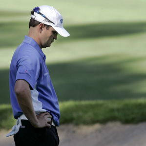 Masters Champion Zach Johnson missed the cut by a shot.