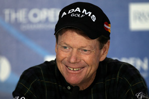 Tom Watson, a five-time Open champion, lost in a playoff to Stewart Cink last year at Turnberry.