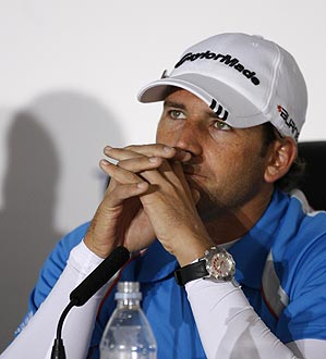"""""""If I manage to win this week, I'm not going to go, 'Oh, I won the British Open but Tiger wasn't there.' I still have the Claret Jug, which is the most important thing,"""" Garcia said."""