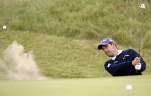 Padraig Harrington won the British Open last year at Carnoustie.