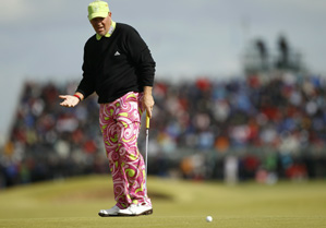 John Daly made only one birdie on Friday.