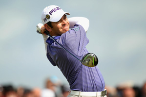Louis Oosthuizen made seven birdies and two bogeys on Friday.