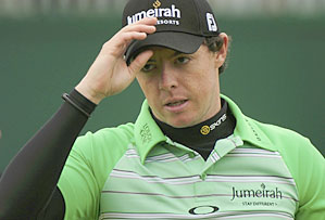 Rory McIlroy had a Twitter spat with Golf Channel analyst Jay Townsend.