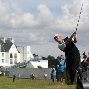 Paul Lawrie will be paired with Tiger Woods on Thursday.