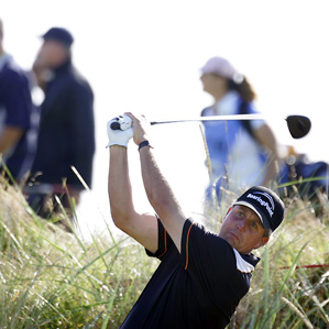 Phil Mickelson lost in a playoff last week at the Scottish Open.