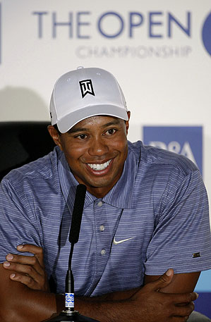 Tiger Woods played Carnoustie in 1995 at the Scottish Open.