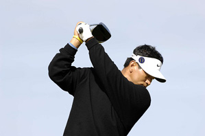 K.J. Choi shot a two-under 69 on Friday.