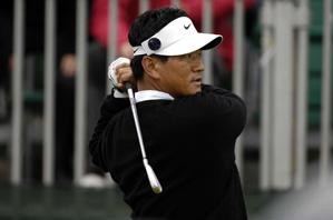 K.J. Choi shot a one-over 72 Saturday.