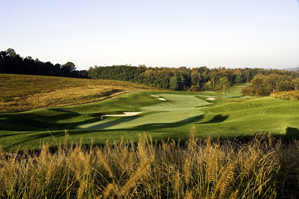 The 18th hole at Longaberger Golf Club.