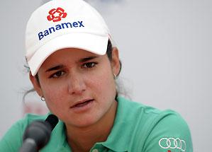 Lorena Ochoa won her first major last year at the British Open.