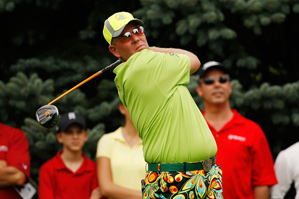John Daly on Thursday at the Buick Open.