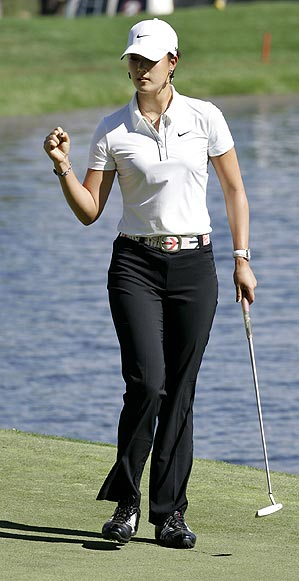 This was Wie's first time playing on the PGA Tour since January 2007.