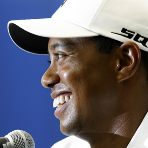 Tiger Woods is playing his first event since the birth of his daughter.