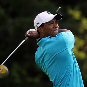 Woods had six birdies and two bogeys in his round of four-under 66.