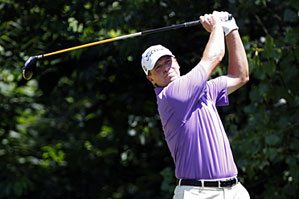 Steve Stricker made eight birdies and no bogeys on Saturday.