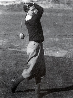 In 1940, instead of hosting the Open, Birkdale pro Robert Halsall shipped out.