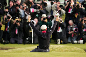 Harrington proved to his fans, the media and the world that nice guys DO finish first.