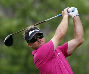 Brian Gay finished with two bogeys for a 66 on Friday.