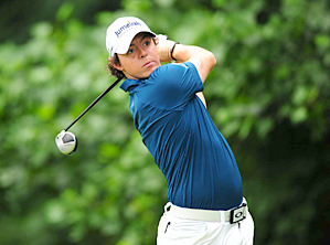 Rory McIlroy made six birdies and no bogeys on Thursday.