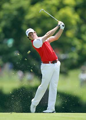 McIlroy fired a six-under 66 on Thursday to tie for the lead.