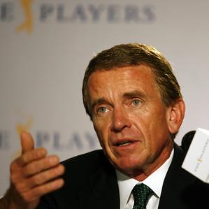 """Golf needs to move together on a global basis,"" Finchem said Wednesday."