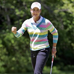 World No. 1 Lorena Ochoa shot a 67 on Saturday.