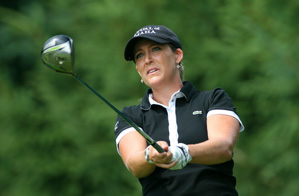 Cristie Kerr made six birdies and no bogeys on Friday.