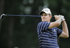 Justin Rose made three birdies and a bogey.