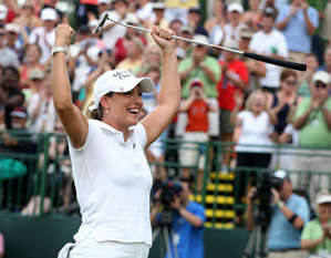 Cristie Kerr will likely take over the No. 1 spot in the world rankings.