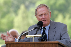 Jack Nicklaus agreed to cut the rough and smooth out the bunkers for this year's Memorial Tournament.