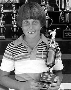 Phil Mickelson won one Junior World title.