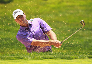Steve Stricker made two birdies, two eagles and three bogeys.