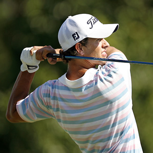 Adam Scott will try to win for the second time this season.